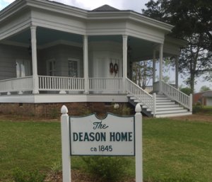 Amos Deason Home in Jones County, MS | historical places in Jones County MS