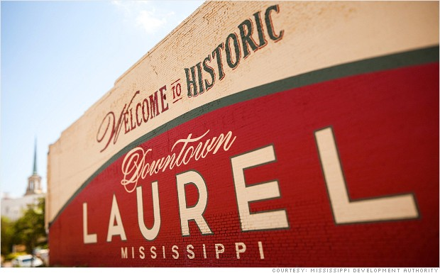Laurel MS, Home Town
