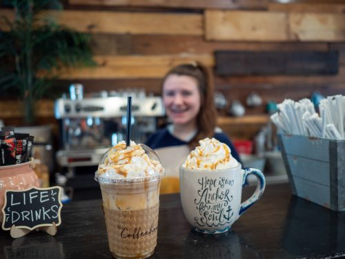 Grab a cup of coffee during a Winter Weekend in Laurel MS