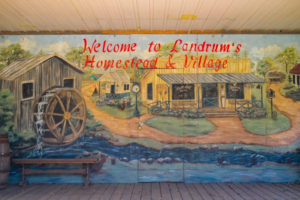 Landrums Homestead and Village in Laurel Mississippi